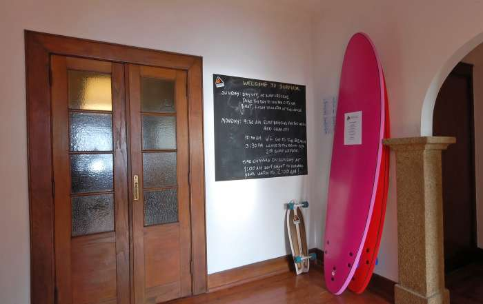 "Surfivor Porto Surf Hostel distinguished by ""The Guardian"" as one of the top 5 Surf lodges in Portugal!"