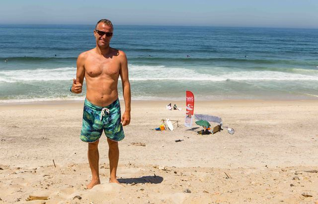Bruno Rodrigues - Head Coach Surfivor Surf Hostel Porto