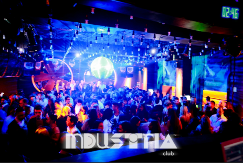 Industria - One of the best night clubs in Portugal