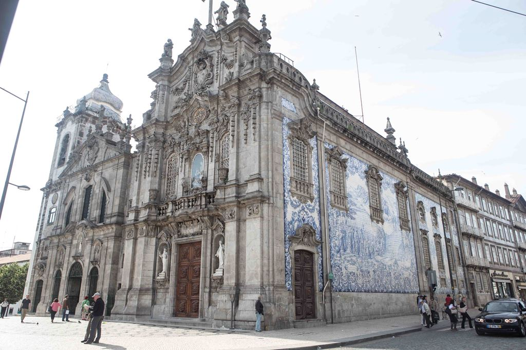 old church in porto town centre