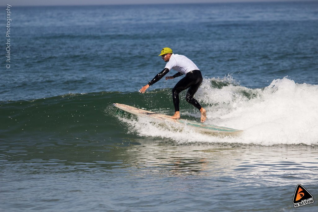 Intermediate surfing- start ridding the green waves
