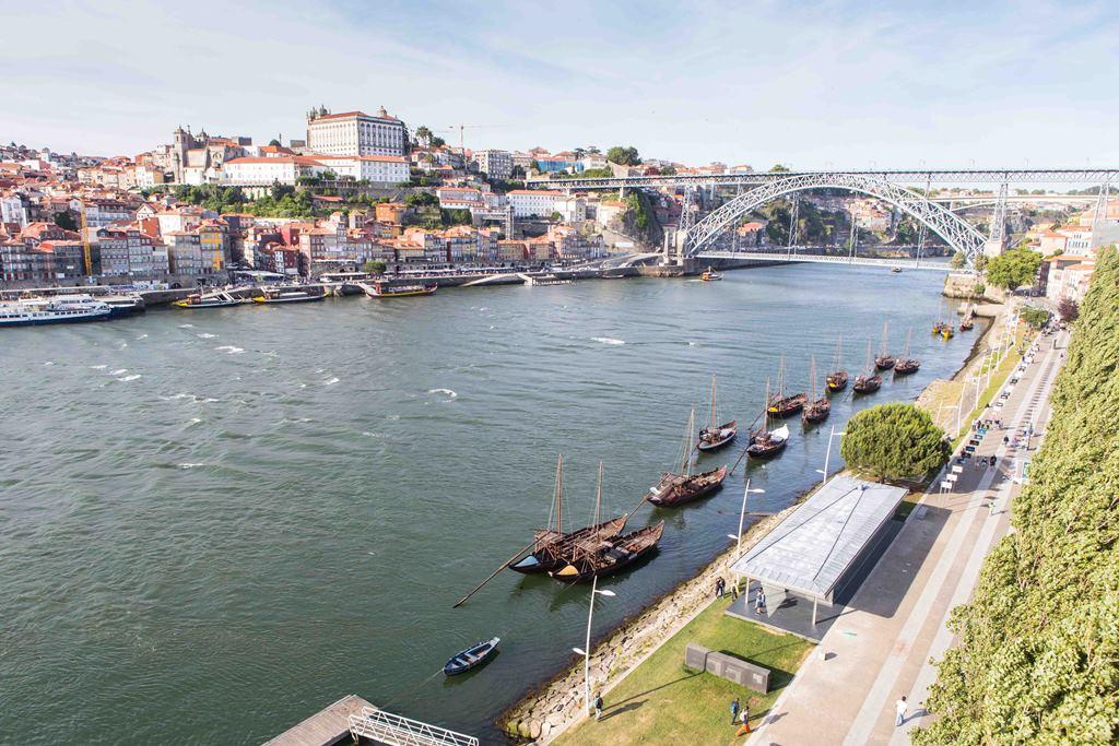 Der Fluss Douro in Porto