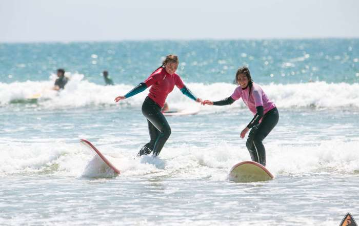 Girls Rippin Surf Week