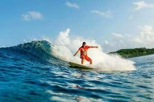 Miguel Surfing