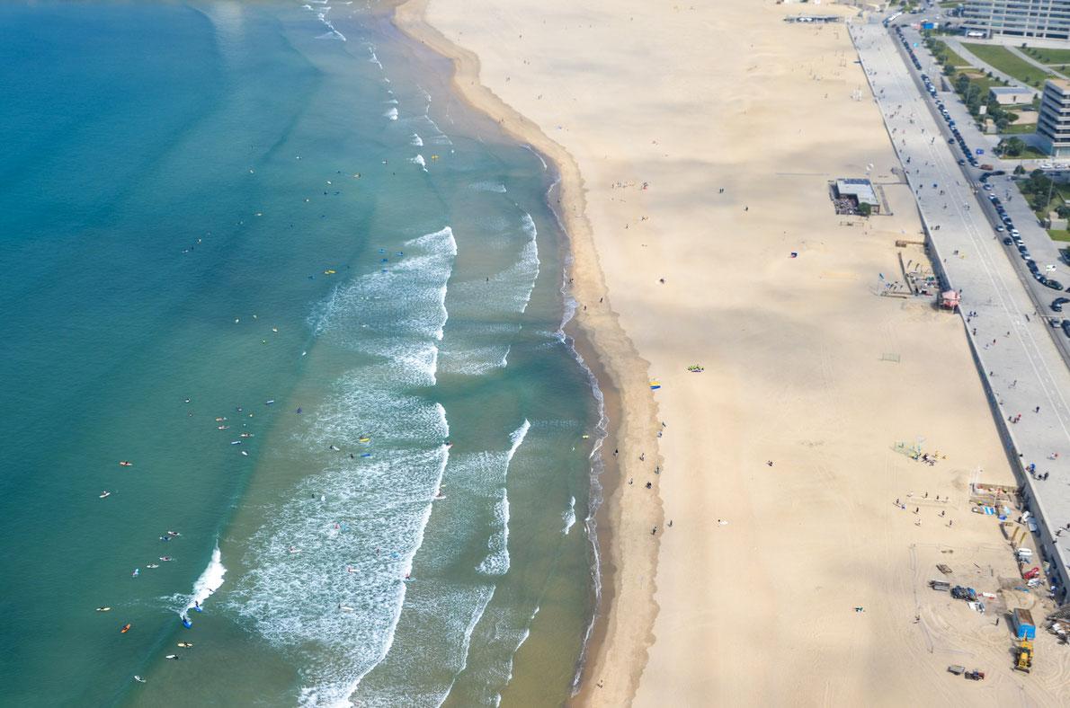Porto Matosinhos Surf Beach Destination
