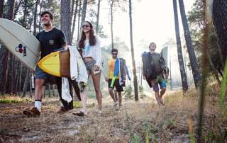 Maceda Forest Surf Sunrise Trip