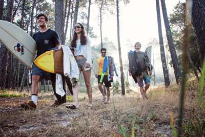 Maceda Forest Surf Sunrise Trip