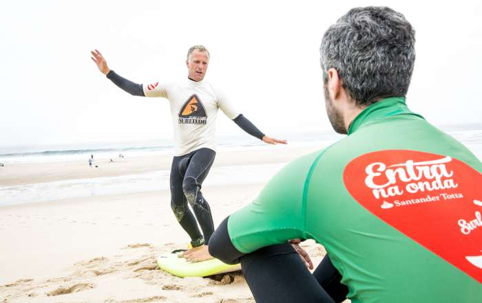 Coach Bruno Novice Beach Lesson Porto