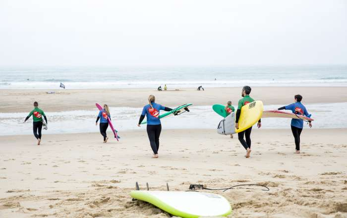 Surfivor Lesson Novice Beach Porto