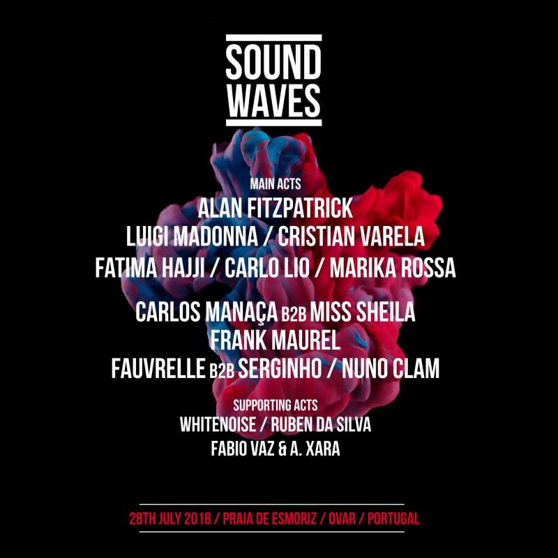 sound waves esmoriz 2018