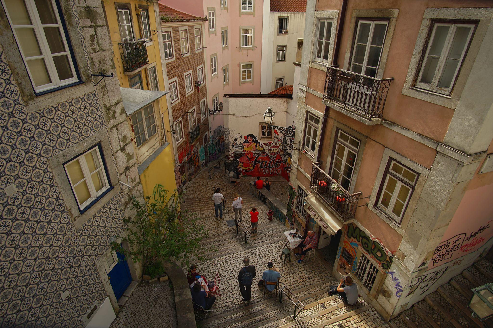 Lisbon Back Streets