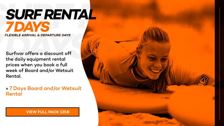 Surf Rental 7 Days