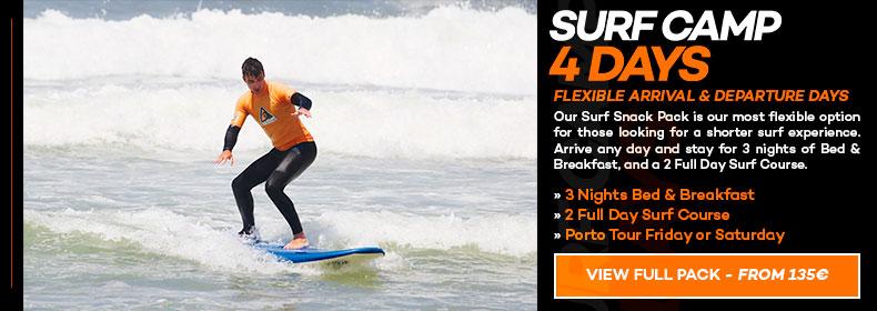 Surf Camp 4 Days