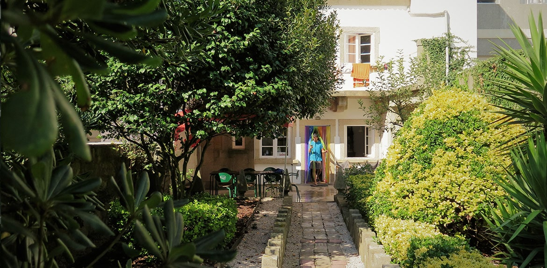 Porto Hostel garden